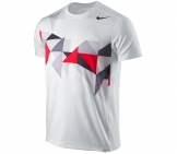 Nike - Advantage Tread Top white- SU12 Men tennis apparel