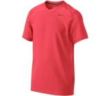 Nike - Boys Contemporary Athlete Top US Open red - kids tennis apparel