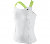 Nike - Girls Athlete Top white - FA12 kids tennis apparel