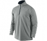 Nike - Running shirt Men Element 1/2 ZIP grey - Men running apparel
