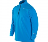 Nike - Running Shirt Men Element 1/2 ZIP blue - Men running apparel