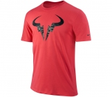 Nike - Rafa Nadal Bull Logo Tee red - HO12 Men tennis apparel