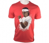 Nike - Rafa Pixel Tee red - SU12 Men tennis apparel