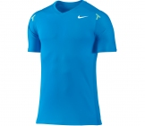 Nike - Rafa Power Court Crew Shirt blau - FA12 Men tennis apparel