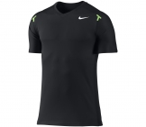 Nike - Rafa Power Court Crew Shirt schwarz - FA12 Men tennis apparel