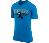 Nike - Rafa Nadal Power Court Graphic Tee blue - Men tennis apparel
