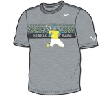 Nike - Rafa Power Court Graphic Tee grey - FA12 Men tennis apparel