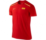 Nike - Rafa Red Fury Crew red- SU12 Men tennis apparel