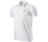 Nike - Roger Federer Wimbledon Smash Lawn Polo Men tennis apparel