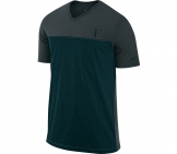 Nike - Roger Federer Hard Court Colorblock Tee Men tennis apparel