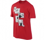 Nike - Roger Federer Hard Court Graphic Tee rot - Men tennis apparel