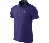 Nike - Roger Federer Masters Polo lila - HO12 Men tennis apparel