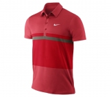 Nike - Roger Federer Smash Stripe Polo Men tennis apparel