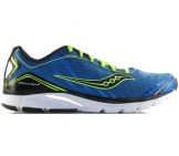 Saucony - ProGrid Kinvara 3 blue/lemon yellow - Men running shoe