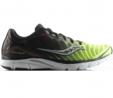 Saucony - ProGrid Kinvara 3 black/lemon yellow/red Men running shoe