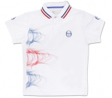 Sergio Tacchini - Boys Djokovic Biceps Polo kids tennis apparel