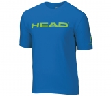 Head - Branding Shirt Kids - blue kids tennis apparel