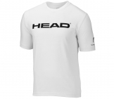 Head - Branding Shirt Kids - white kids tennis apparel