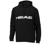 Head - Club Hoody Kids black/white kids tennis apparel