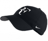 Nike - Federer Hybrid Cap black Men tennis apparel