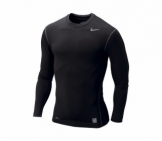 Nike - Pro Core LS Tight Crew Nonbox black HO10 Men Sport apparel