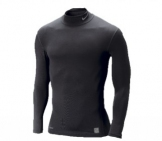 Nike - Pro Core LS Tight Mock Nonbox Black/grey Men Sport apparel