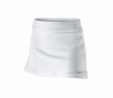 Nike - Girls Back Hand Border Skirt white kids tennis apparel