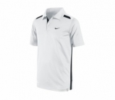 Nike - Boys Club Polo white kids tennis apparel