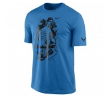 Nike - Rafa Ace Tee blue - FA12 Men tennis apparel