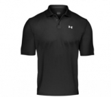 Under Armour - Performance Polo black Men tennis apparel