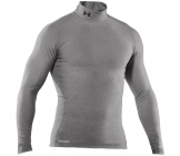 Under Armour - Laufshirt Coldgear Compression Mock Men running apparel