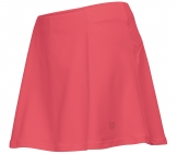 Wilson - Core Performance Skirt rosè Damen Tennisbekleidung