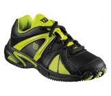 Wilson - Trance Impact Junior black/yellow - kids tennis shoe