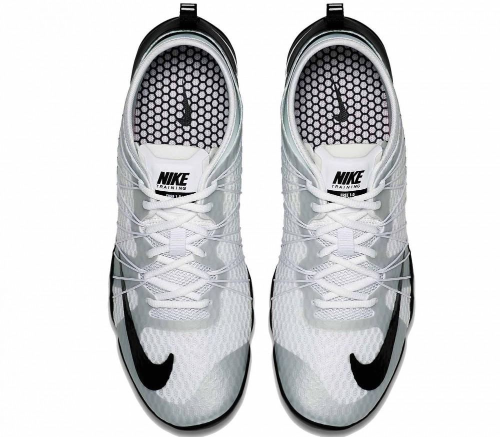 Nike - Free 1.0 Cross Bionic 2 Damen Trainingsschuh (weiß/schwarz)