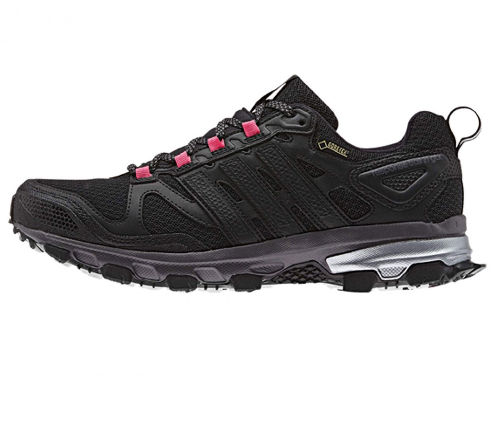adidas response trail 21 gtx damen laufschuh schwarz pink im online shop von keller sports. Black Bedroom Furniture Sets. Home Design Ideas
