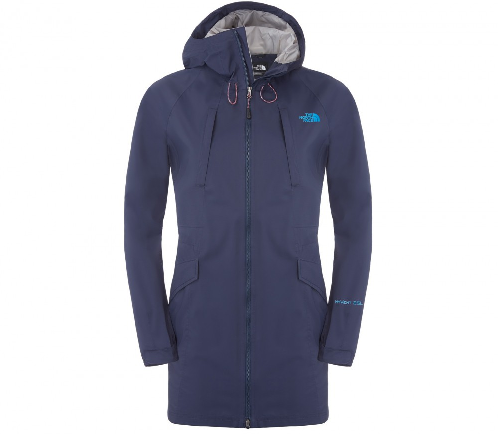 the north face solvita damen parka blau im online shop. Black Bedroom Furniture Sets. Home Design Ideas