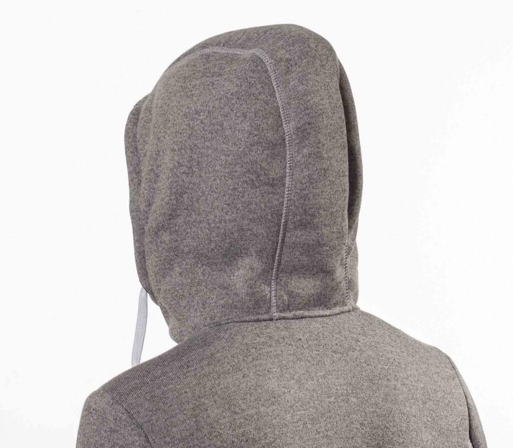 icepeak kayla midlayer hoodie damen fleecejacke grau. Black Bedroom Furniture Sets. Home Design Ideas