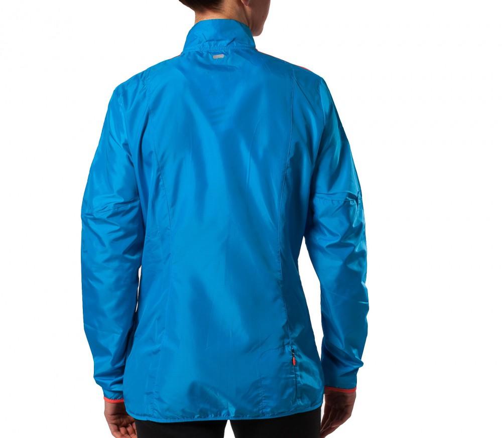 adidas response wind jacket damen blau im online shop. Black Bedroom Furniture Sets. Home Design Ideas