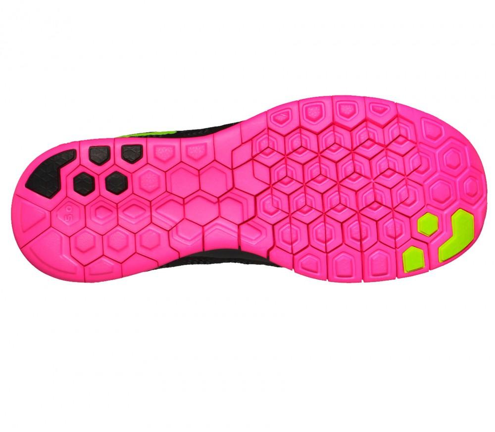 Nike Free 5.0 Schwarz Pink Grün