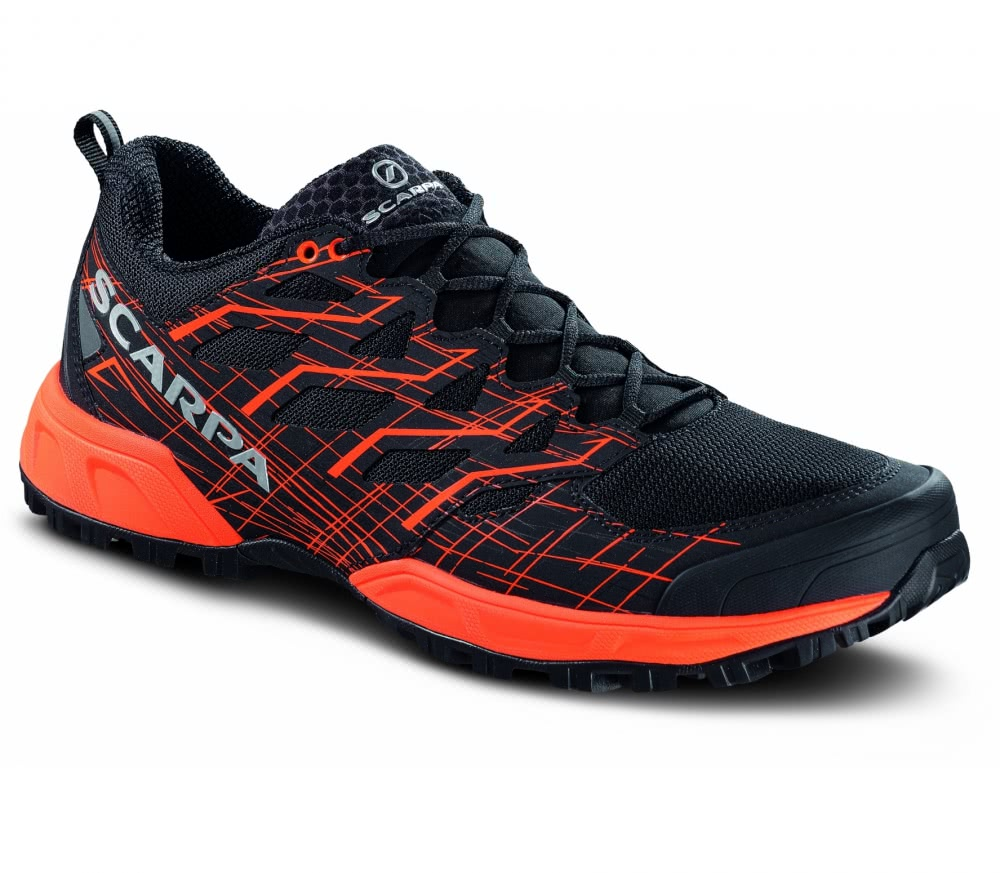 Scarpa - Neutron 2 Herren Trailrunningschuh (schwarz/orange)
