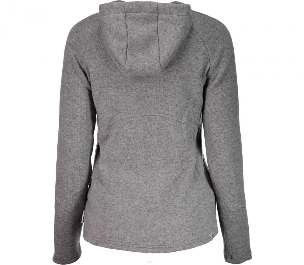 maloja k ssenm bondedwool damen fleecejacke grau im online shop von keller sports kaufen. Black Bedroom Furniture Sets. Home Design Ideas