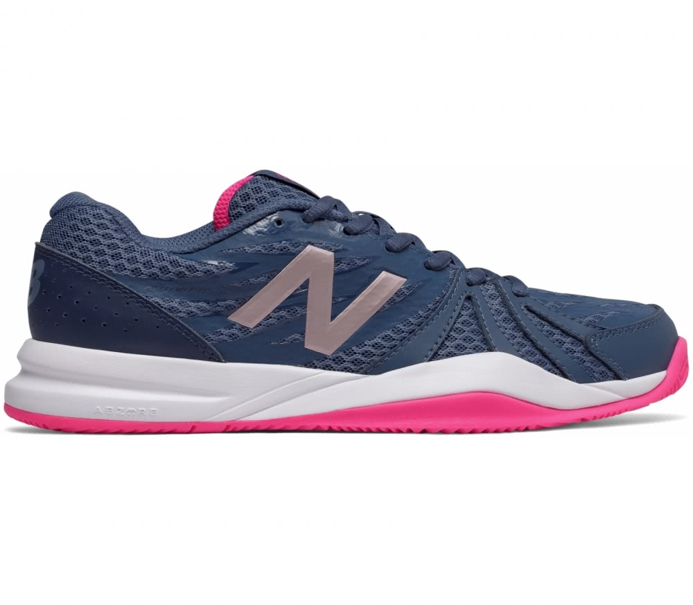 new balance 786 v2 damen tennisschuh dunkelblau pink. Black Bedroom Furniture Sets. Home Design Ideas