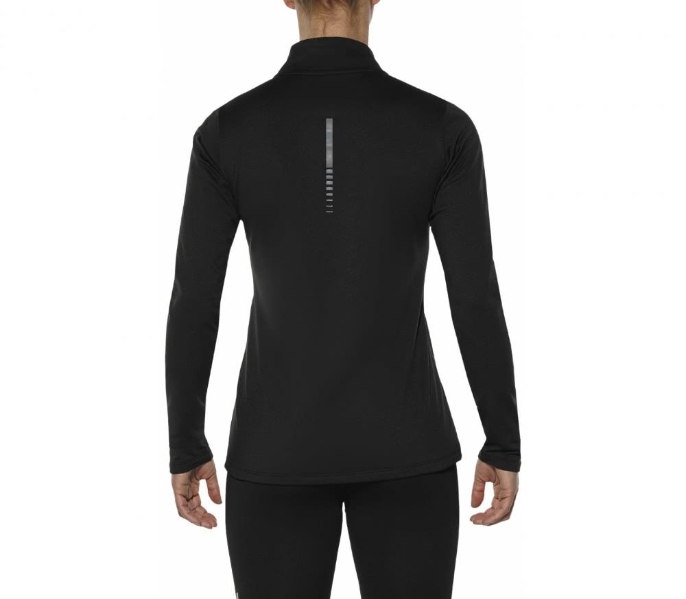 ASICS - Essential Winter 1/2 Zip Damen Laufshirt (schwarz)