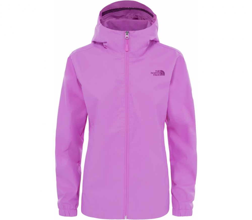 the north face quest damen regenjacke violett im online shop von keller sports kaufen. Black Bedroom Furniture Sets. Home Design Ideas