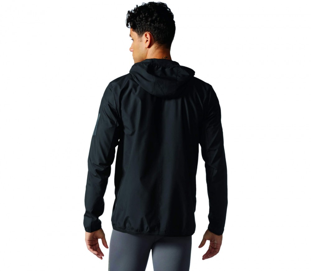 adidas response herren windbreaker schwarz im online. Black Bedroom Furniture Sets. Home Design Ideas