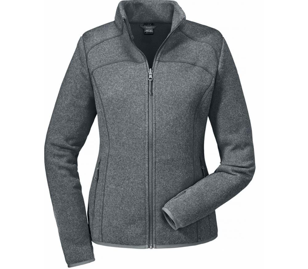 sch ffel zipin valdez damen fleecejacke grau im online shop von keller sports kaufen. Black Bedroom Furniture Sets. Home Design Ideas