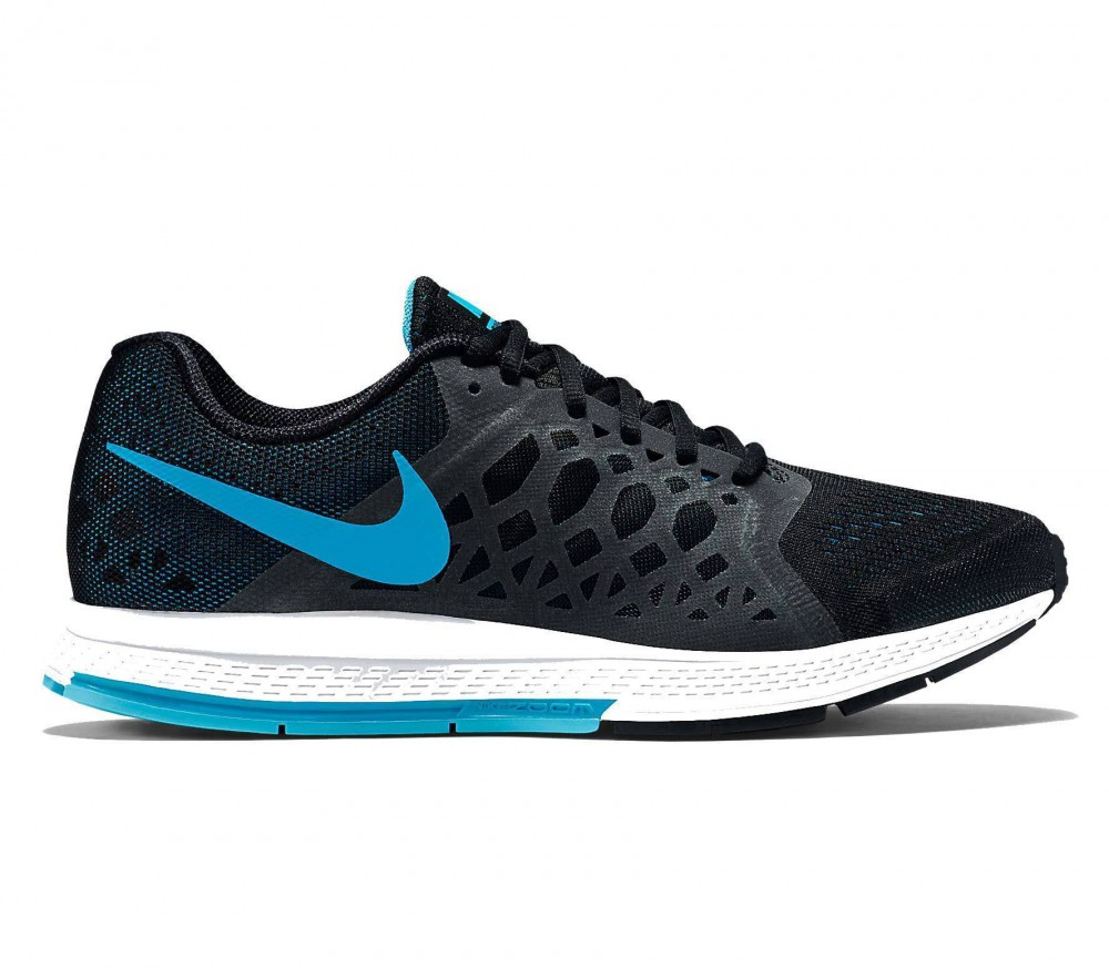 nike air zoom pegasus 31 herren laufschuh schwarz blau. Black Bedroom Furniture Sets. Home Design Ideas