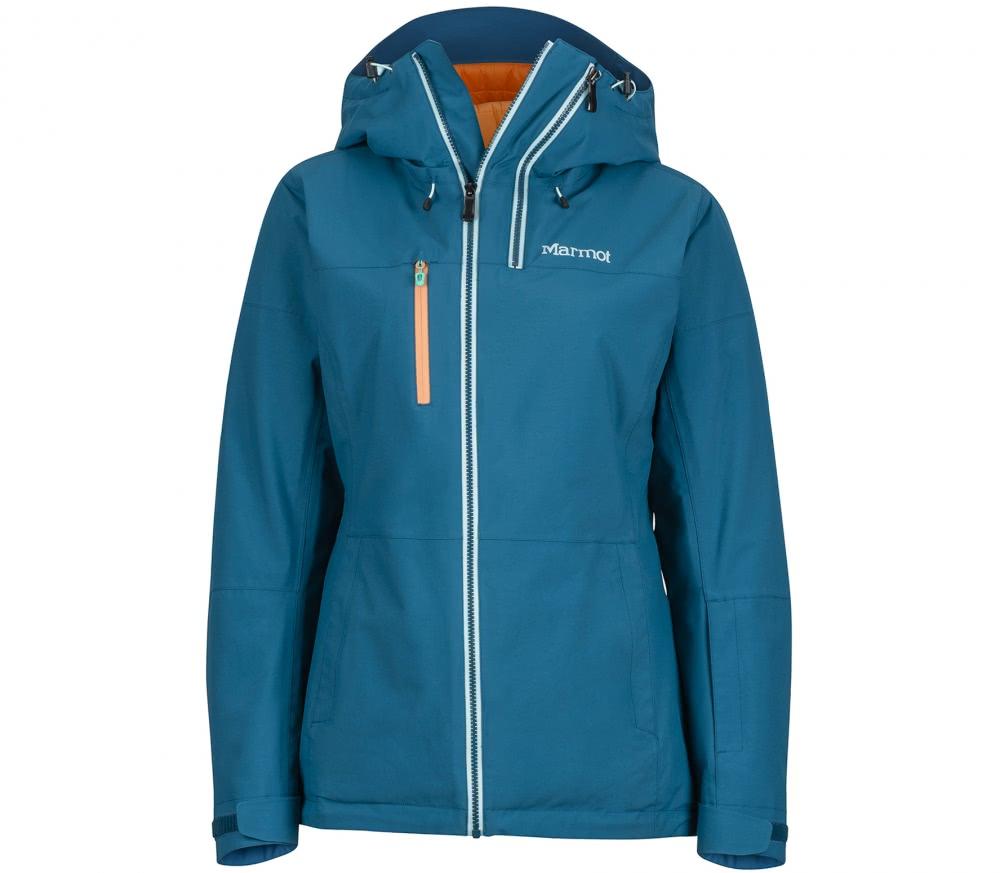 marmot dropway damen skijacke blau im online shop von keller sports kaufen. Black Bedroom Furniture Sets. Home Design Ideas