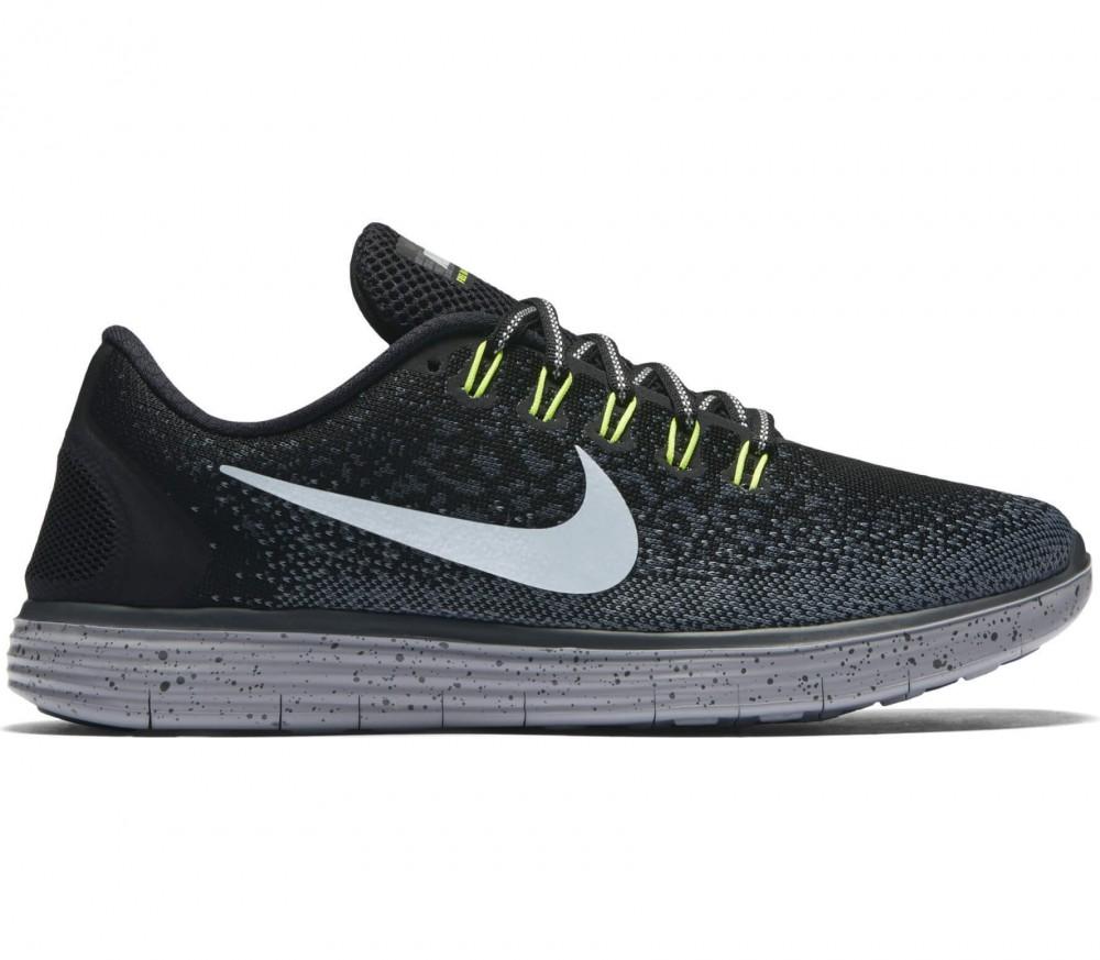Nike Free RN Distance Shield Laufschuh Damen, schwarz, schwarz / grau