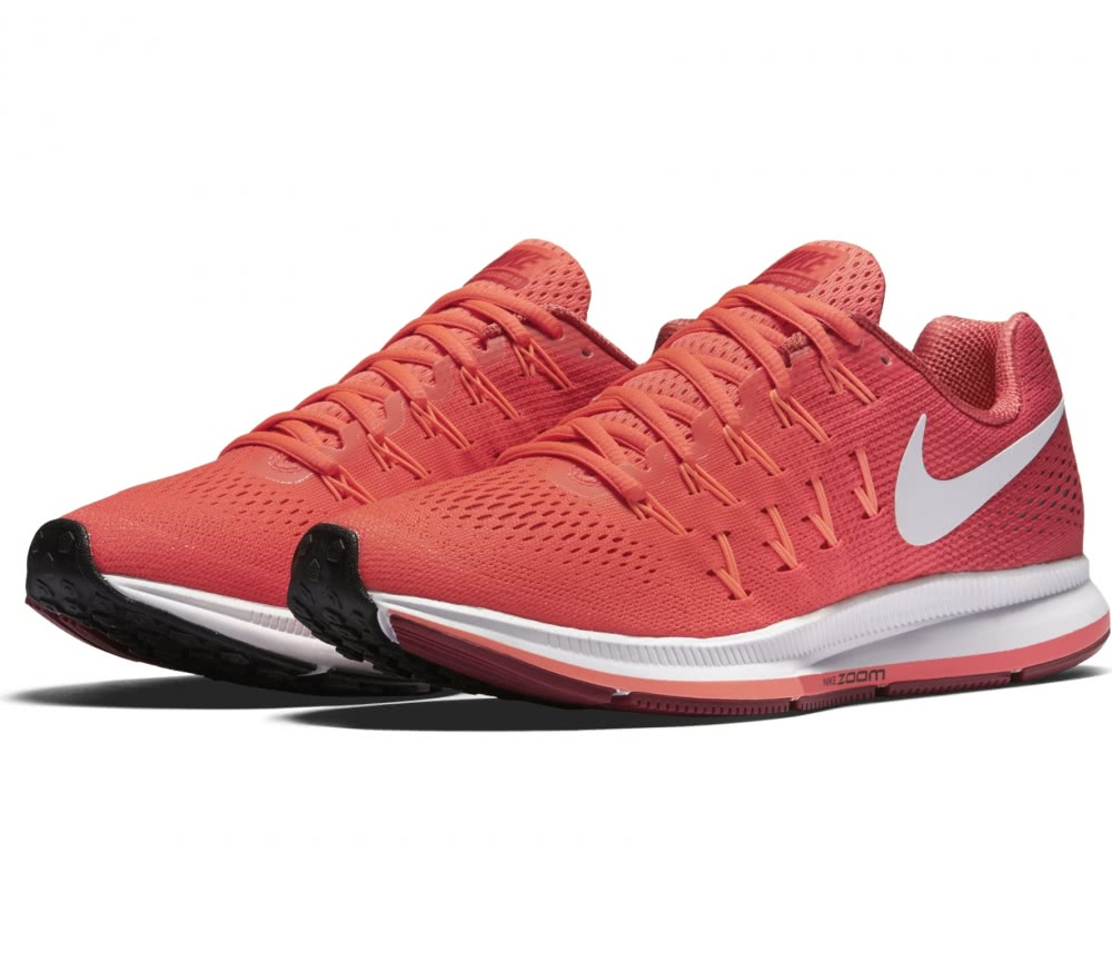 nike air zoom pegasus 33 damen laufschuh rot im online. Black Bedroom Furniture Sets. Home Design Ideas